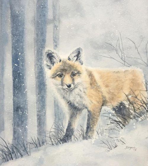 """""""Wintry Wanderer"""" fox kit SOLD"""