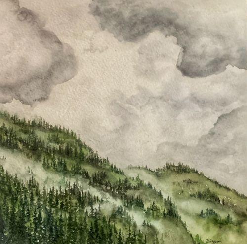 Misty Mountainside III