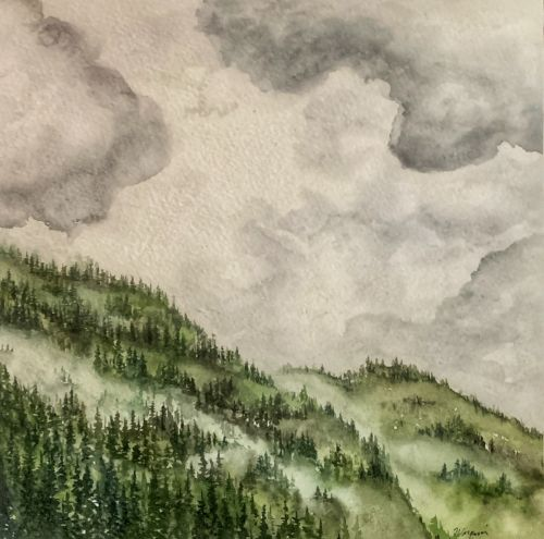 Misty Mountainside III